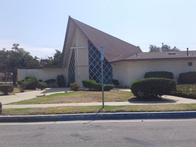Hollypark Methodist Church in Gardena